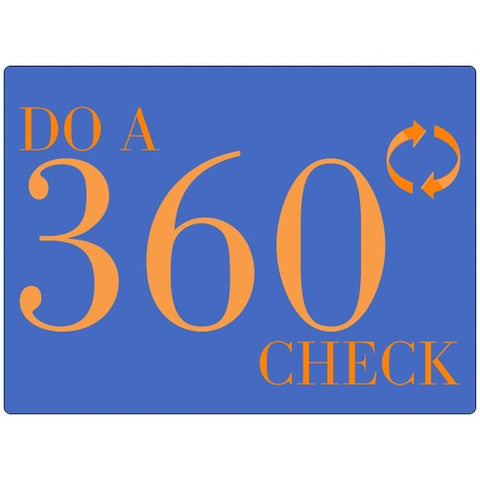 Do A 360 Check – Walk Around Poster - #401411P