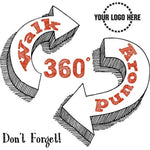 Don't Forget  360 Walk Around Banner - #401412B