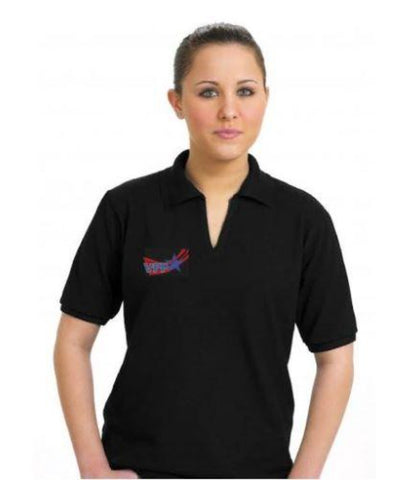 Women's Moisture Wicking Polo W/ OSHA Logo - #401627