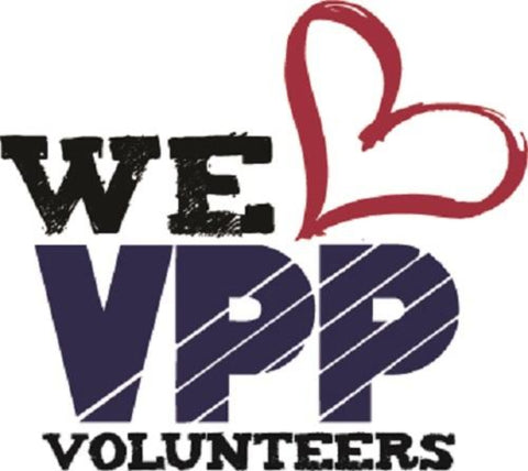 VPP WE LOVE VOLUNTEERS Banner  - #40218218V