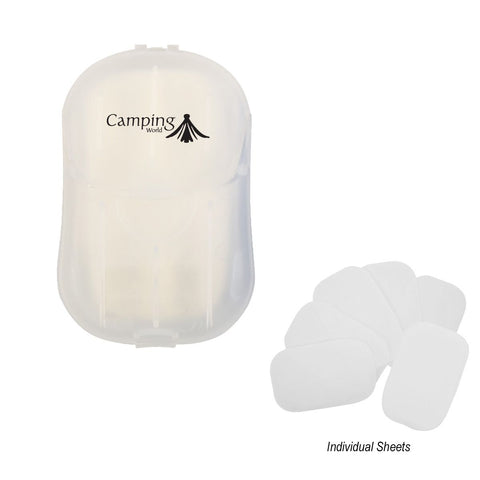 Hand Soap Sheets In Compact Travel Case - #402677