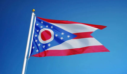 Ohio Outdoor State Flag - #402825
