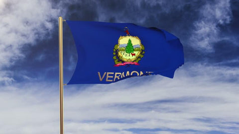 Vermont Outdoor State Flag - #402835