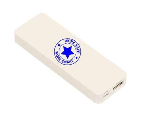 UL Power Bank w/Work Safe Logo - #402903