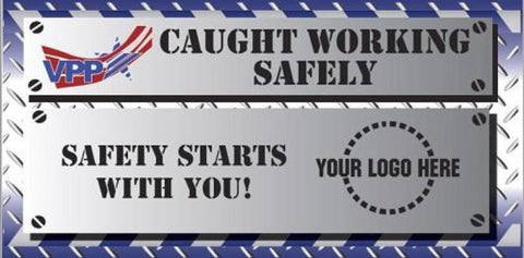 VPP Caught Working Safely Banner - #402916B