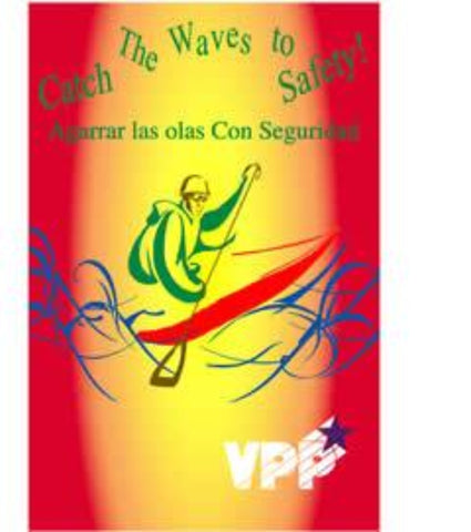 Catch The Waves To Safety Poster - Spanish - #402930PS