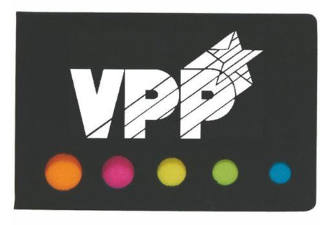Sticky Flag Booklet w/VPPPA logo - #402951