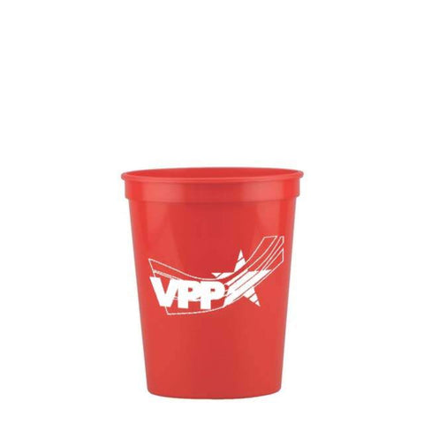 Stadium Cup Red w/OSHA Logo - #402992