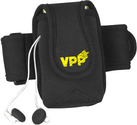 Workout Armband with Media Holder Black w/VPP Logo - #402998