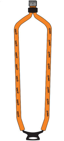 Cotton Dual-Use Lanyard Orange w/VPP logo - #403017