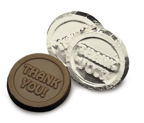 Thank You Chocolate Coin - #403233