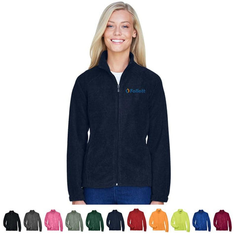 Ladies' 8 Oz. Full-Zip Fleece Jacket - #403294
