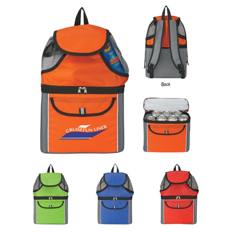 All-In-One Cooler Beach Backpack - SKU# 403474