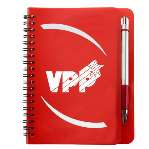 Huntington Notebook & Pen w/VPP Logo - #403089
