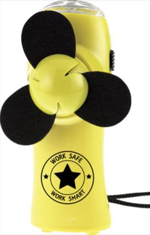 Turbo Mini Fan Flashlight w/Work Safe Logo - #400115