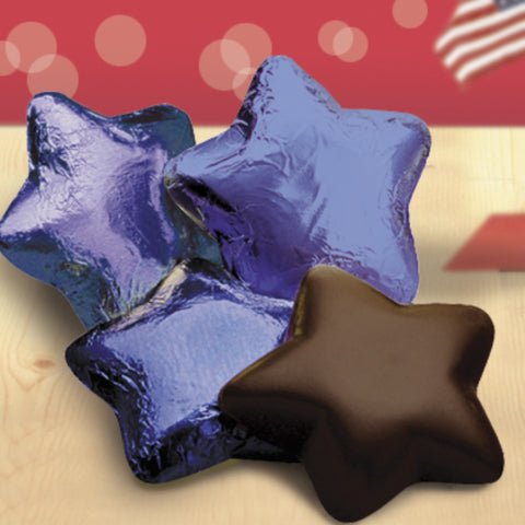 Chocolate Stars in Foil - #403230