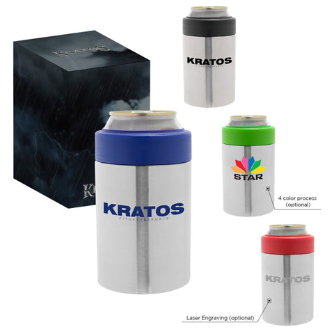Kratos Double Wall Stainless Can Cooler - #402562