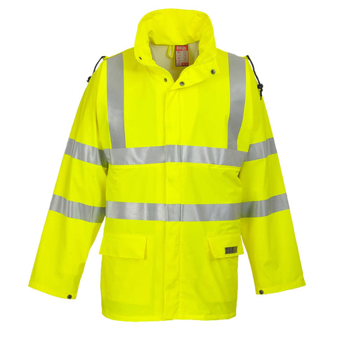 Sealtex Flame FR Hi-Vis Jacket Yellow - #403261