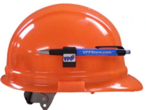 Hard Hat Adhesive Accessory Pencil Holder Clip w/VPP Logo - #403009