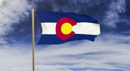 Colorado Outdoor State Flag - #402796