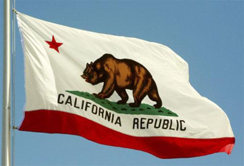 California Outdoor State Flag - #402795