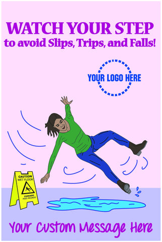 Caution Fall Poster - #401132P