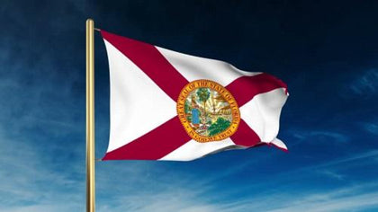Florida Outdoor State Flag - #402799