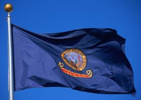Idaho Outdoor State Flag - #402802