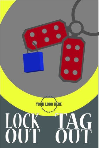 Lockout Tagout Poster - #402416P