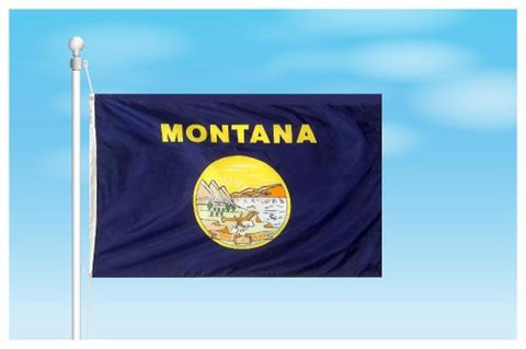 Montana Outdoor State Flag - #402816