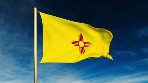 New Mexico Outdoor State Flag - #402821