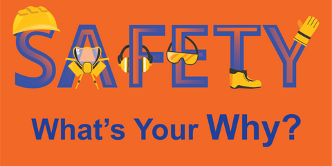 Safety What's Your Why Banner 1 - #401193B
