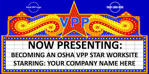 VPP Cinema Sign Banner - #402415B