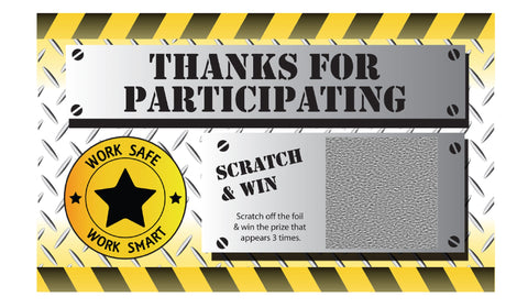 Thanks for Participating WSWS Scratch & Win (Economy Prize Package) - #401963