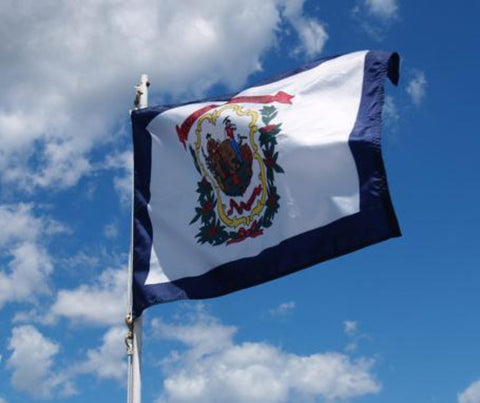 West Virginia Outdoor State Flag - #402838