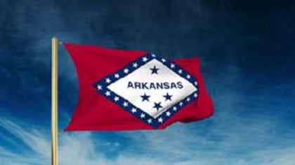 Arkansas Outdoor State Flag - #402794