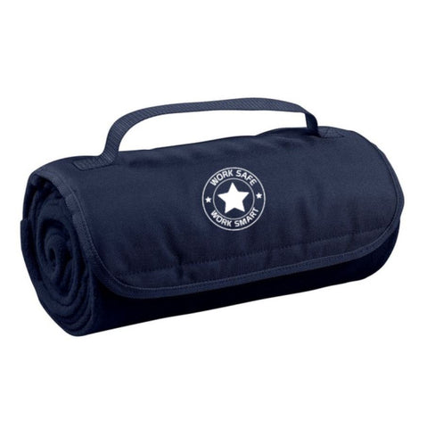 Roll Up Blanket w/Work Safe Logo - #402214