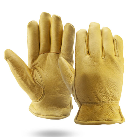 Winter Lined Deerskin Gloves - #403109