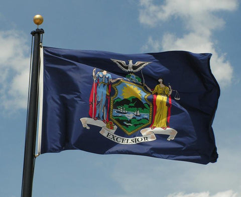 New York Outdoor State Flag - #402822