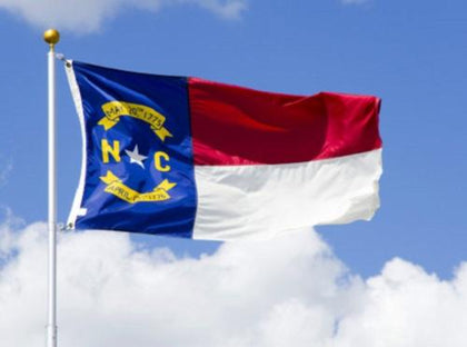 North Carolina Outdoor State Flag - #402823