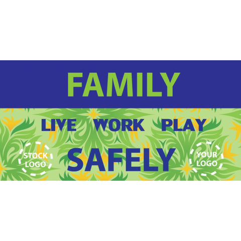 Family Safety Banner - #SAS-2035