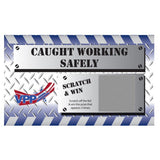 Caught Working Safely USA Made VPP Scratch & Win (Deluxe Prize Package) - #402894