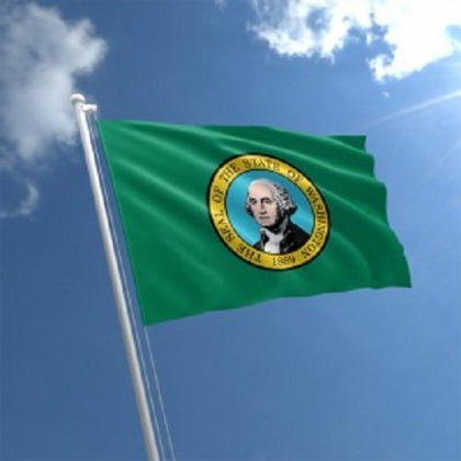 Washington Outdoor State Flag - #402837