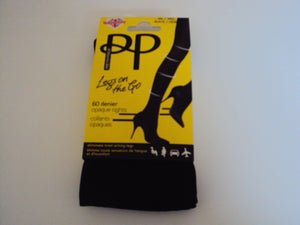 Pretty Polly 60 denier legs on the go Tights (pantyhose) M/L and X-Large PNASK4