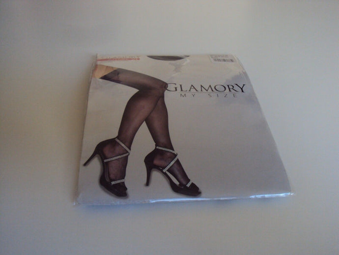 Glamory Allure 20 Style 50112 Hold ups (thigh hi's) Black Sizes up to 4XL
