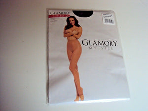 Glamory Toe-less 20 Style 50223 tights Black Sizes to 4XL