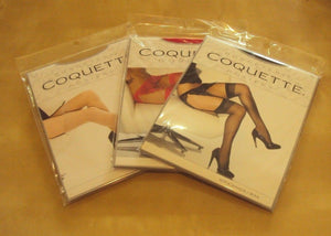 Coquette Sheer Thigh High Stockings One Size fits Most Style 1706