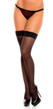 Load image into Gallery viewer, Glamory Allure 20 Style 50112 Hold ups (thigh hi's) Black Sizes up to 4XL