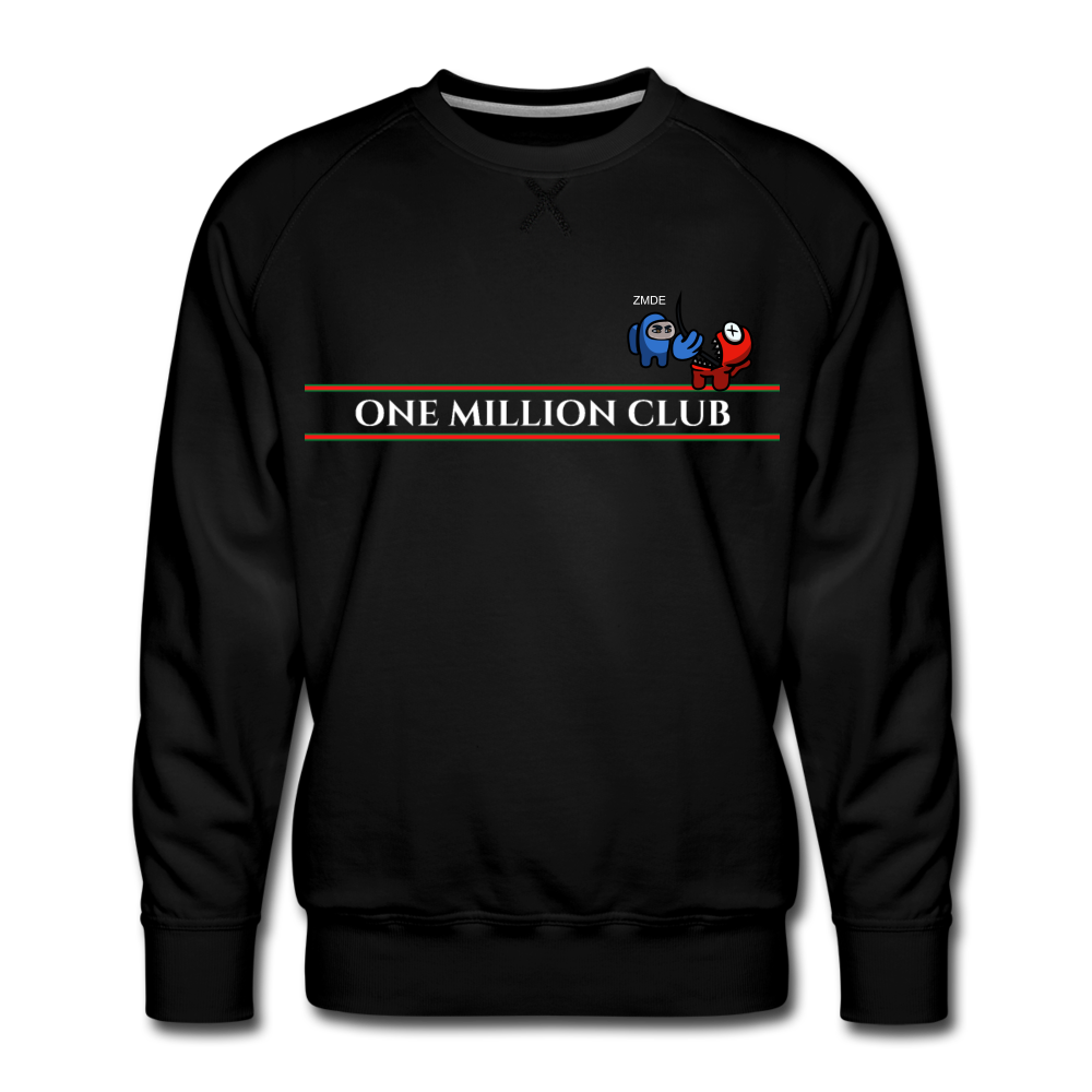 *Limited Edition* One Million Club Sweatshirt - black