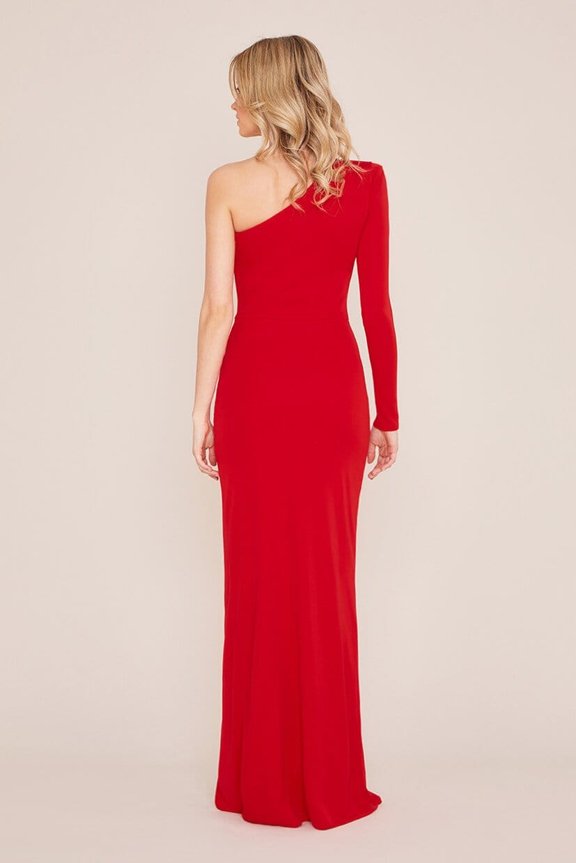 Mina Maxi Red Dress